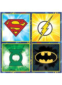Justice League Bev Napkins