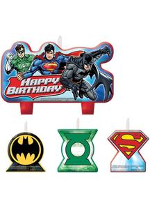 Justice League Candle Set