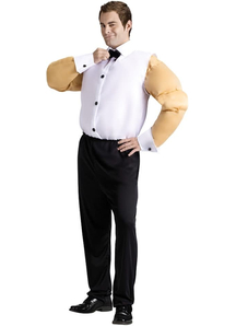 Man With Muscles Adult Costume