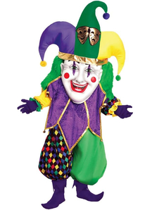 Mardi Gras Joker Adult Costume