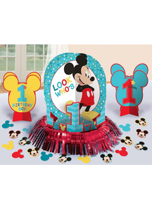 Mickey 1St Bday Table Decor