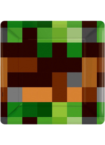 Minecraft Sq Plates 7In