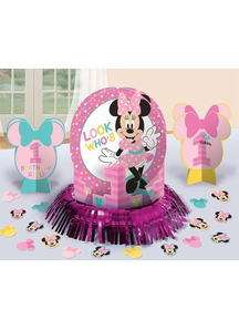 Minnie 1St Bday Table Decor