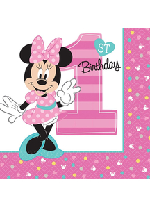Minnie 1St Lunch Napkins