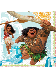 Moana Lunch Napkins