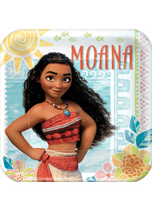 Moana Square Plate 9In 8 Pack