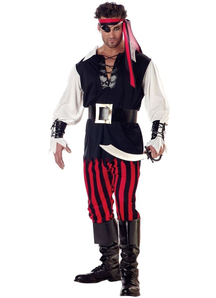 Monocular Pirate Adult Costume