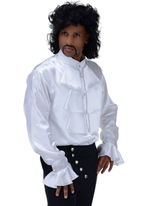 Pirate Shirt White Adult - 10676