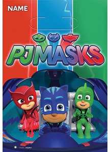 Pj Masks Loot Bags 8 Pack