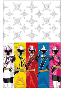 Power Rangers Ninja Steel Table Cov