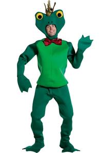 Prince Frog Adult Costume
