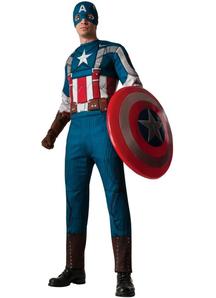 Retro Captain America Adult Costume