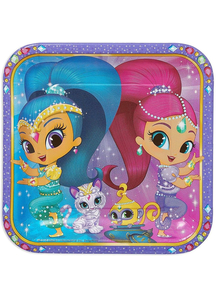Shimmer Shine Square Plate