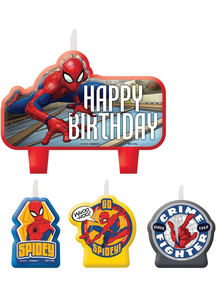 Spider-Man Candle Set