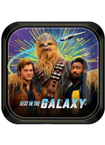 Star Wars Sq Plates 7In 8Ct
