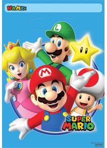 Super Mario Loot Bags 8 Pack