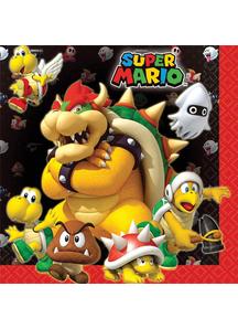 Super Mario Lunch Napkins