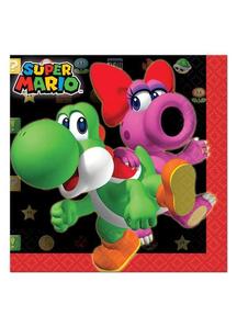 Super Mario Bev Napkins