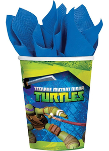 Tmnt Cups 9Oz 8 Pack