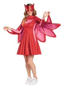 Womens Owlette Costume - PJ Masks