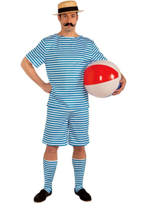 20'S Style Beach Costume