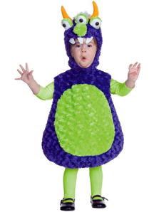 3 Eyed Monster Toddler Costume