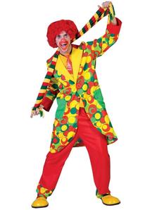 Amazing Clown Adult Costume