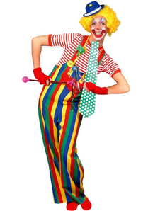 Amusing Clown Adult Costume