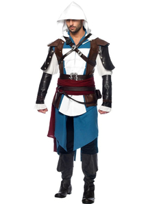 Assassins Creed Edward Kenway Adult Plus Costume
