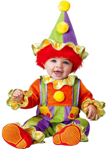 Baby Clown Toddler Costume