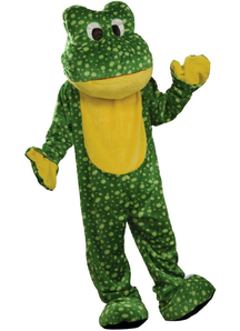 Big Frog Adult Costume