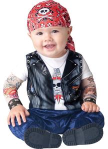 Biker Toddler Costume