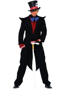 Black Mad Hatter Adult Costume