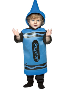 Blue Crayola Toddler Costume