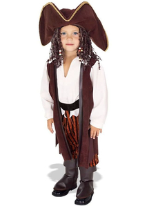 Brave Pirate Toddler Costume