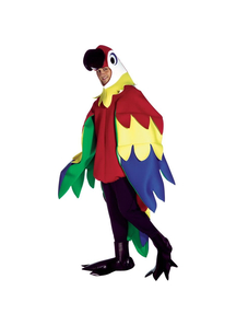 Bright Parrot Adult Costume