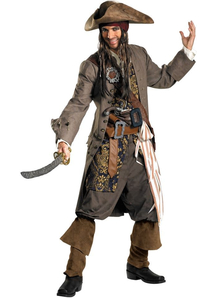 Captain Jack Sparrow Adult Plus Size Costume
