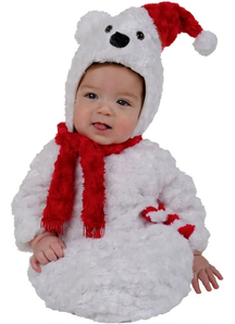 Christmas Bear Infant Costume