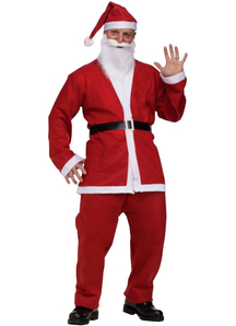 Christmas Santa Adult Costume