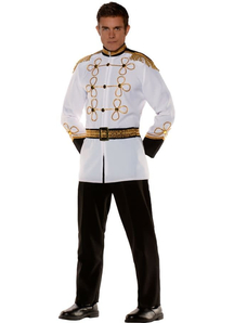 Cinderella'S Prince Adult Plus Costume