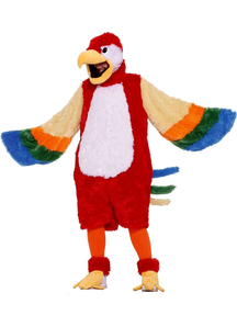 Colorful Parrot Adult Costume
