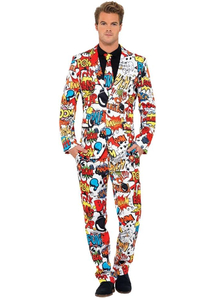 Comics Suit Adult