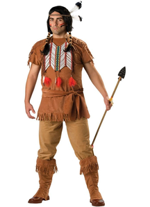 Courageous Indian Adult Costume