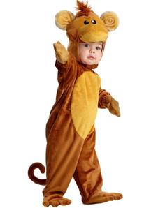 Cute Monkey Toddler Costume