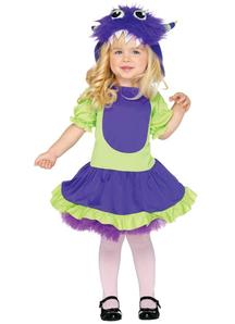Cute Monster Toddler Costume