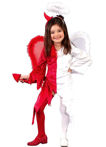 Demi Angel Demi Devil Toddler Costume