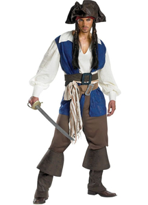 Jack Sparrow Adult Plus Size Costume