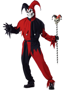 Evil Jester Adult Costume
