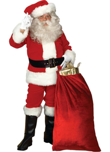 Fabulous Santa Adult Costume