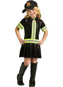 Fire Girl Toddler Costume